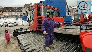 Дети, машина, горные лыжи. МанкиТайм в Шерегеш