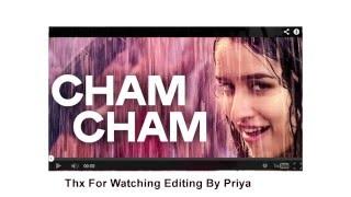 Cham Cham Full SONG LYRICS VIDEO | BAAGHI Movie
