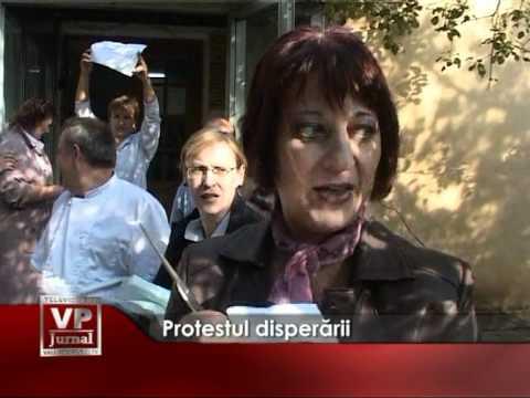 Protestul disperării