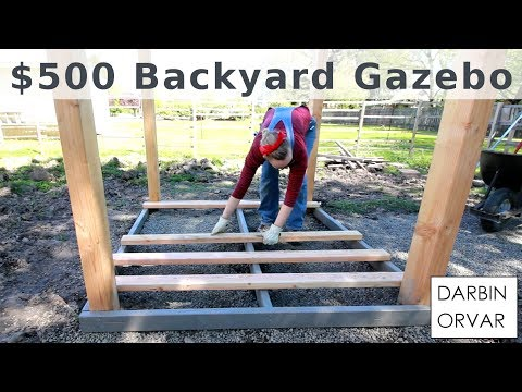 Backyard Gazebo for $500 w/ Limited Tools
