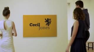 Cecil Jones Logo Canvas