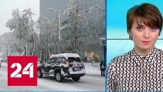 """""""Погода 24"""": в Молдавии армию мобилизовали на борьбу со снегопадом"""