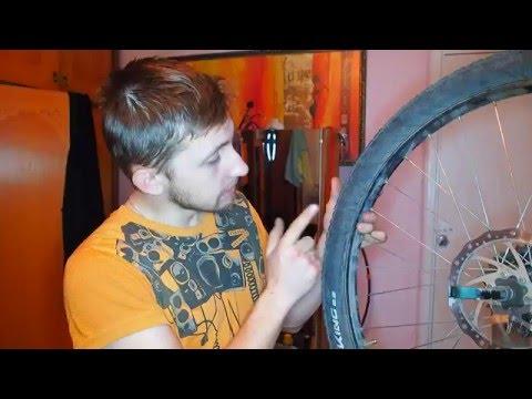 Горный велосипед - Ремонт покрышки Continental своими руками. Зашивание бокового корда