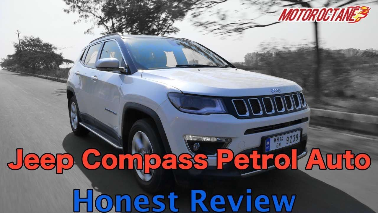 Motoroctane Youtube Video - Jeep Compass Petrol automatic Review in Hindi | MotorOctane