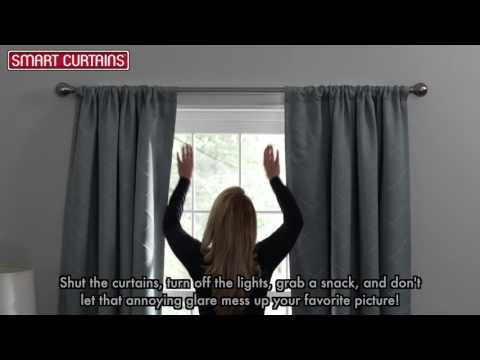 Smart Curtains 100% Blackout