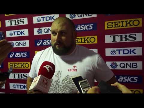 MŚ Doha 2019:Michał Haratyk bez awansu do finału