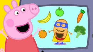 Peppa Pig Official Channel | Super Potato at Peppa Pig's Playgroup!