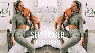 SEPTEMBER FAVORITES | Fitness, Beauty, Home Decor