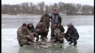 Зимняя рыбалка в дельте волге
