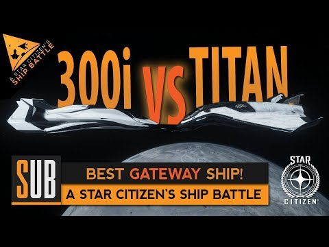 Origin 300i vs Aegis Avenger Titan | A Star Citizen's Ship Battle | Alpha 3.5.1