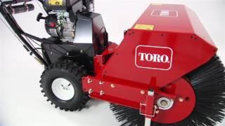 Toro Walk Behind Power Broom