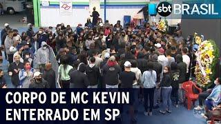 Corpo do funkeiro MC Kevin é enterrado em São Paulo
