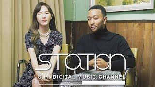 [SM STATION] Behind The Scene - Red Velvet's Wendy & John Legend's Written In The Stars 존레전드X레드벨벳 웬디