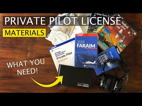 Books, Tools, and Materials for Your Private Pilot License - YouTube