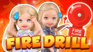 Barbie - Preschool Fire Drill | Ep.272