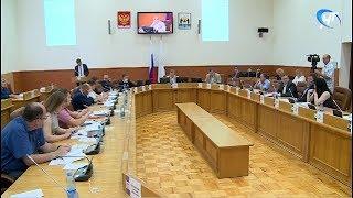 Депутаты гордумы рассмотрели генплан Великого Новгорода