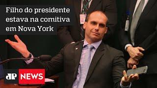 Eduardo Bolsonaro e Tereza Cristina testam positivo para a Covid-19