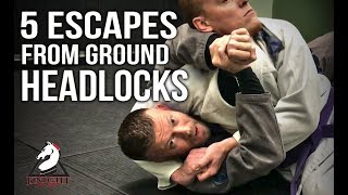 Jiu Jitsu Escapes | 5 Ways Out Of Headocks On The Ground