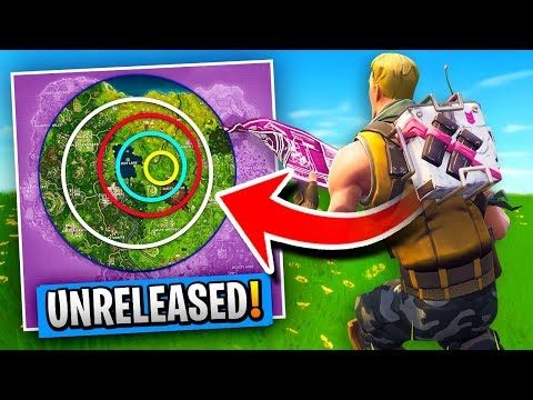 *UNRELEASED* STORM TRACKER BACKPACK Gameplay In Fortnite Battle Royale!