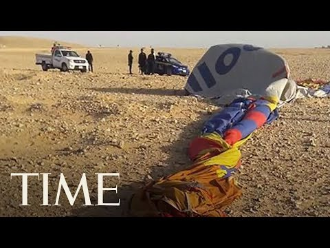 Hot Air Balloon Crash In Egypt Leaves 1 Tourist Dead And 7 Injured After Pilot Lost Control | TIME