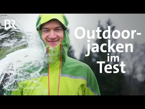 Schutz vor Wind und Regen: Outdoorjacken im Test | Gut zu wissen | BR | Test