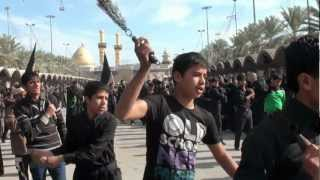 preview picture of video '04-Dec-2011 Karbala - Muharram processions inside Bainul Haramain'