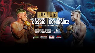 LUX Fight League 016 Challenge LIVE Fri., Sept. 17, 2021 at 7 p.m. ET on Fight Network