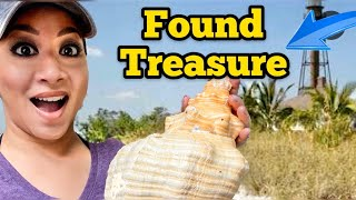 ISLAND TREASURE HUNTING / Shelling On Sanibel Island Florida / Shell Hunting In Sanibel Island