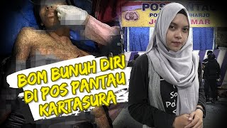 VIRAL OF THE DAY - Bom Bunuh Diri di Pos Pantau Kartasura