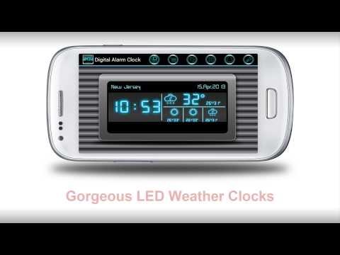 Video of Digital Alarm Clock