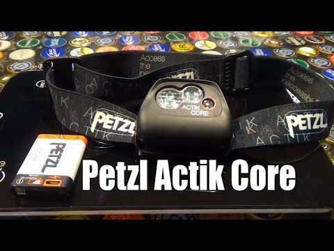 Видео о Фонарь Petzl Actik Core red E099GA01