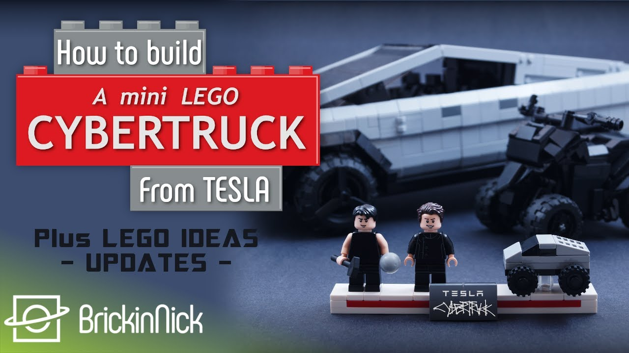 How to build a Mini Tesla Cybertruck | LEGO Ideas MOC