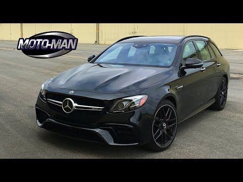 2018 Mercedes AMG E63s Station Wagon TECH REVIEW (1 of 2)