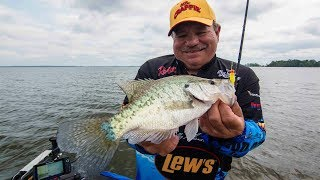 How to Vertical Fish Big Crappie on Brush Piles