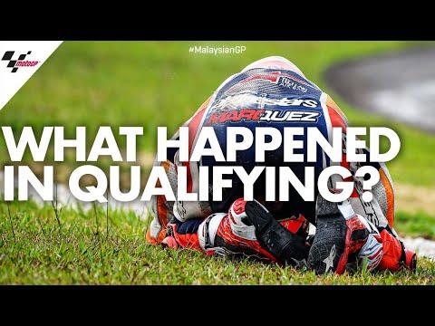 【MotoGP マルケスハイサイド動画】MotoGP 2019 第18戦マレーシアGP 予選マルク・マルケスのハイサイド動画