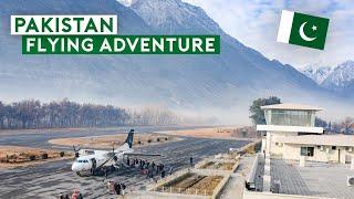 An Epic Air Adventure in Pakistan by PIA B747, B777, A310, ATR-42
