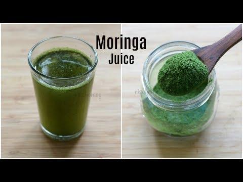 Moringa Juice For Weight Loss & Pcos – Homemade Moringa Powder