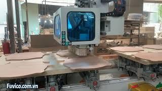 Làm Mộng Thế Nào Vừa Đẹp Vừa Đẹp Vừa Nhanh, Giống Nhau 100%   Máy Đục Mộng CNC Woodmaster WM-5CNC