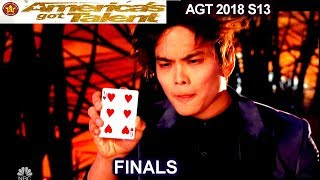 Shin Lim Magician OMG ACT!! HE COULD WIN IT ALL!! | America's Got Talent 2018 Finale AGT