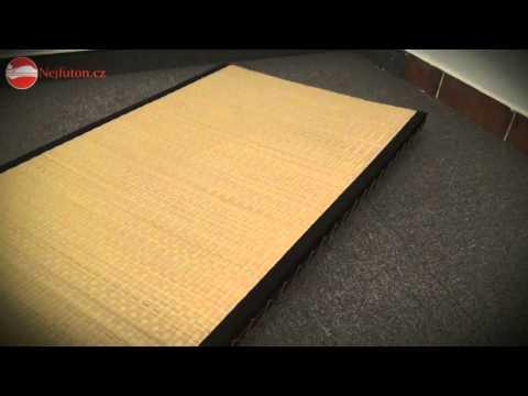 Video Karup Tatami Tatami 80x200 cm s černým okrajem 2