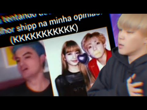 FELIPE NETO REAGINDO A SHIPPS DO BTS| BTS MEMES BR #27