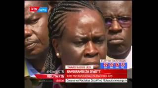 Rambirambi za aliyekuwa waziri Nichalos Biwott baada ya kuaga hospitali ya Nairobi: Mbiu ya KTN