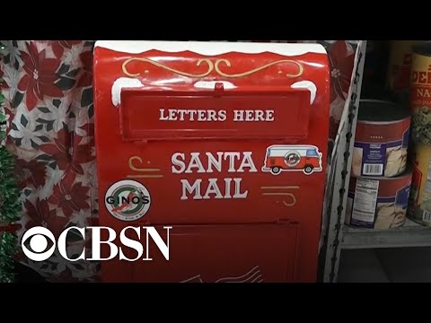 """Deli owner becomes local hero for responding to hundreds of """"letters to Santa"""""""