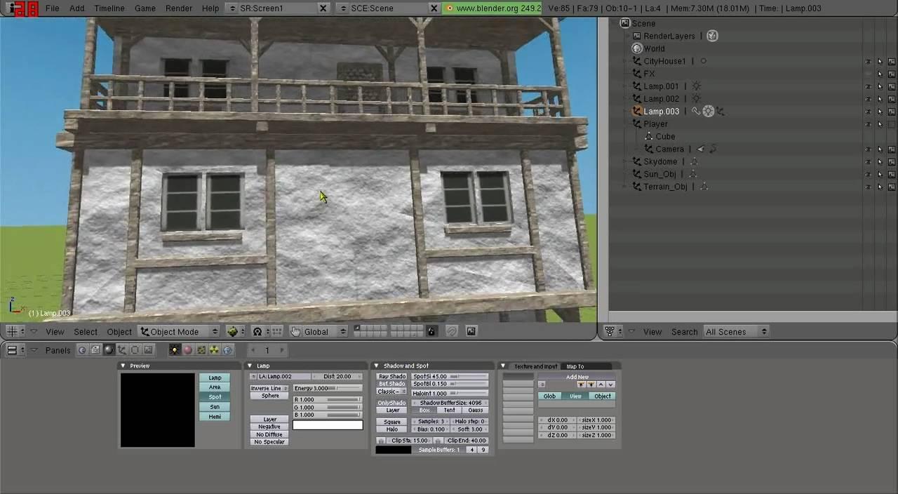 Lighting Tutorial - Blender Game Engine