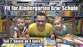 Fit für Kindergarten & Schule Teil 2 - Top Lernspiele ab 4 Jahre (+ Hinweis zum Alter)