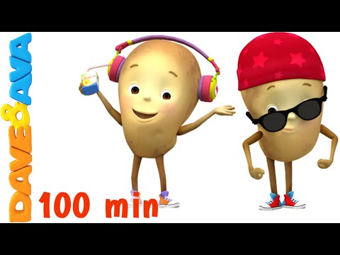 One Potato, Two Potatoes | Counting Songs | Nursery Rhymes Collection from Dave and Ava