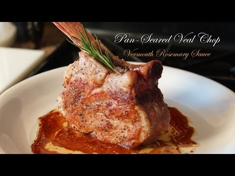 Video Simply Veal Chop - Bruno Albouze - THE REAL DEAL