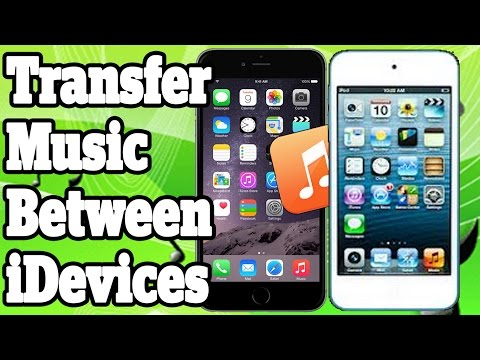 Transfer Music From iPhone To iPhone iPad and iPod Touch With Or Without Computer