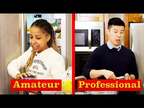 Amateur Chef Vs Professional Chef: Raid The Fridge Challenge