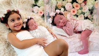 ALAÏA'S FIRST OFFICIAL PHOTOSHOOT!!! **THE CUTEST NEWBORN PHOTOS**